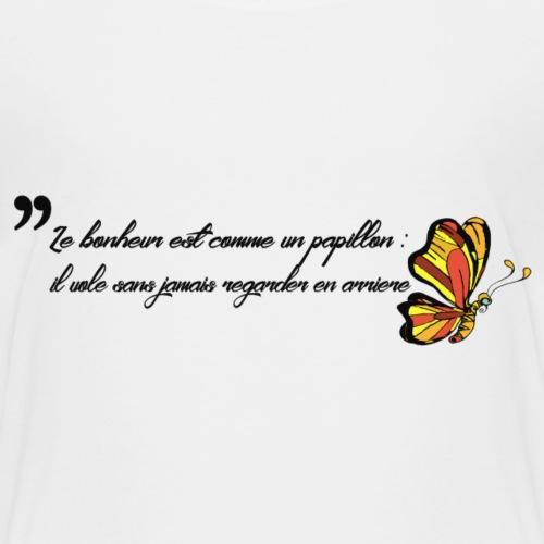 Papillon de bonheur - T-shirt Premium Enfant