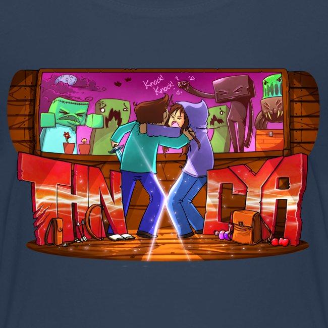 ThnxCya tshirt never say goodbye 2 by Jonas Nacef
