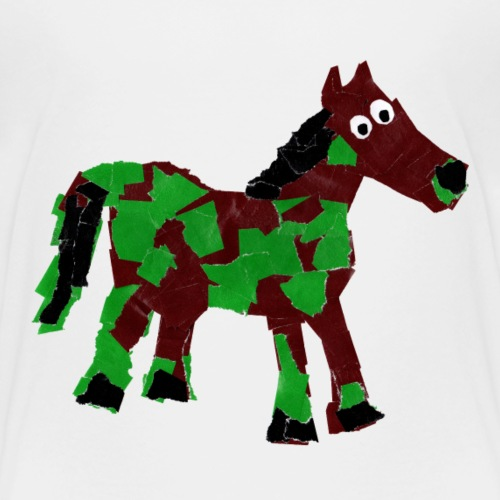 Luisa-00013-Pferd - Kinder Premium T-Shirt