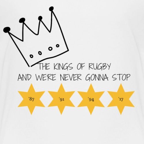 The Kings of Rugby (Kids) - Kids' Premium T-Shirt