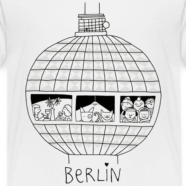 Berliner Fernsehturm Zum Ausmalen Littlepublic Kinder Premium T Shirt