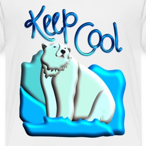 Eisbär- Keep Cool - Kinder Premium T-Shirt