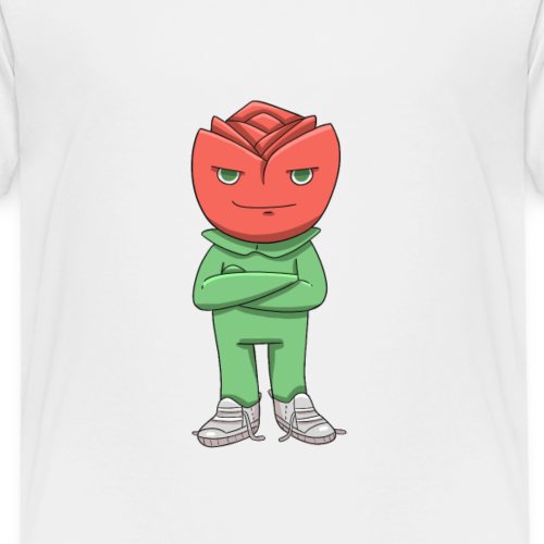 Rosen! - Premium-T-shirt barn
