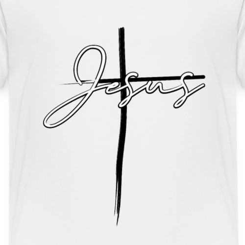 Jesus Christus Kreuz Vintag - Kinder Premium T-Shirt