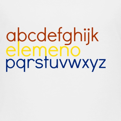 elemeno2 - Kids' Premium T-Shirt
