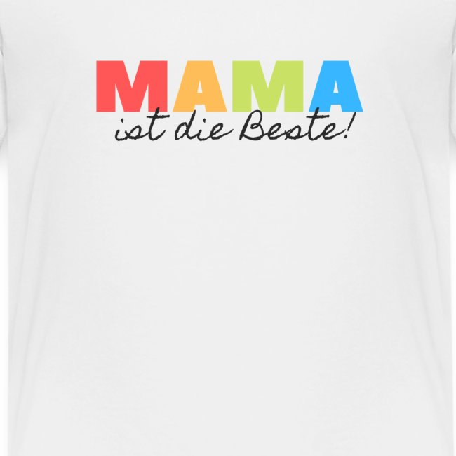 """""""Mama ist die Beste"""" - Geschenkidee zum Muttertag"""