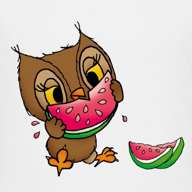 Eule Wassermelone
