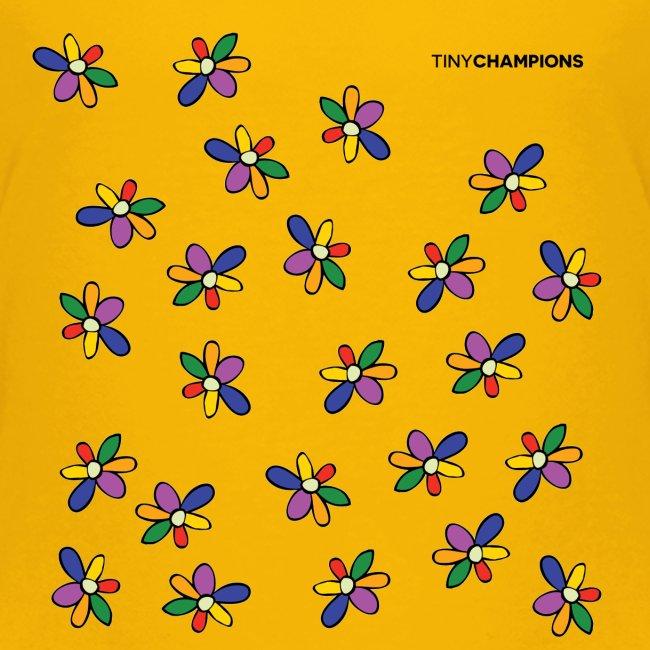 colour flower design tc