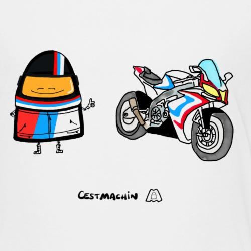 La moto de Stan - T-shirt Premium Enfant