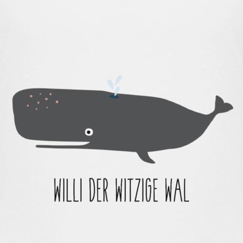 Spenenmotiv 10: Willi der Wal Witzige - Kinder Premium T-Shirt