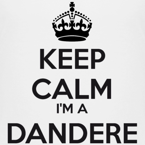 Dandere keep calm - Kids' Premium T-Shirt