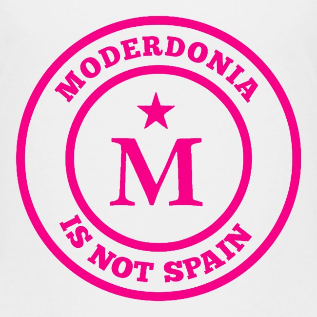 Moderdonia is not Spain rosa