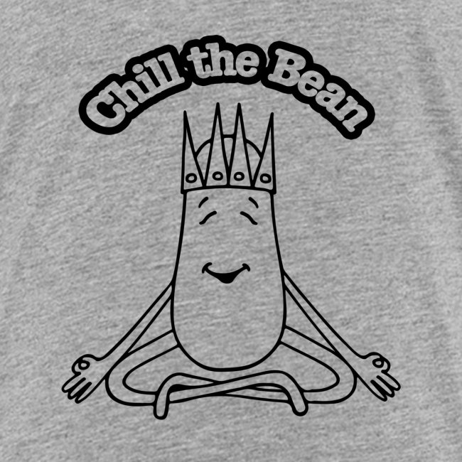 Chill the Bean black outline