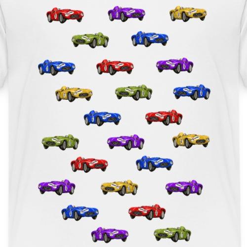 Happy Cars Selection - Kids - Premium-T-shirt barn