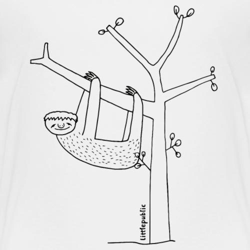 Faultier   zum Ausmalen   littlepublic - Kinder Premium T-Shirt