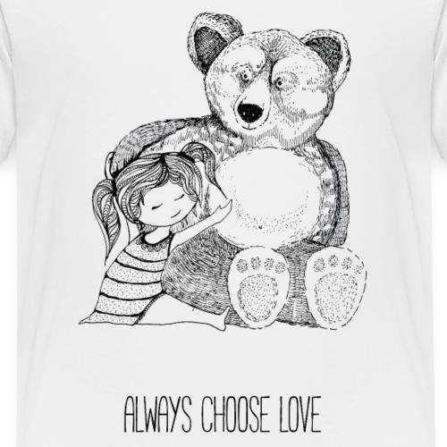 bear best friend - Kinder Premium T-Shirt