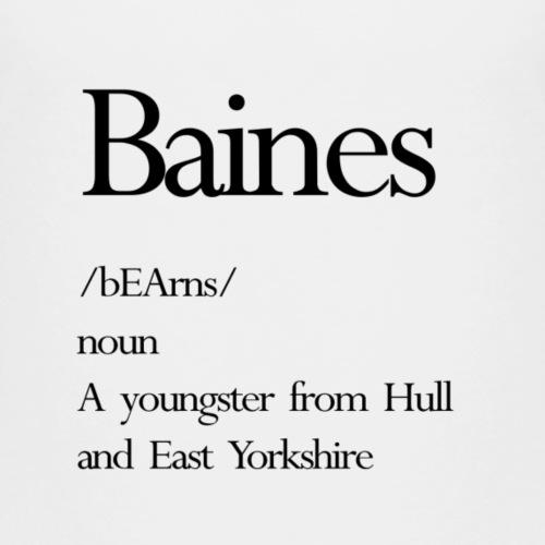 baines - Kids' Premium T-Shirt