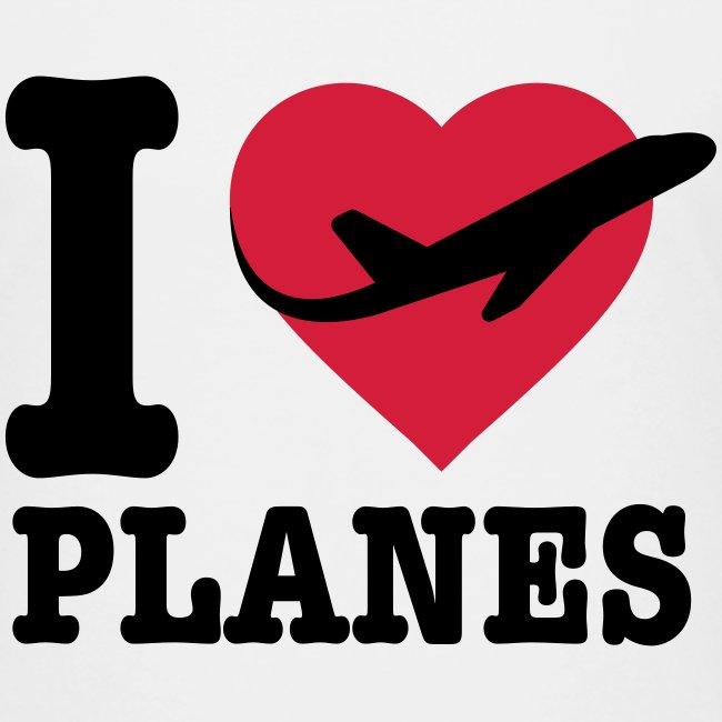 Uwielbiam samoloty - czarne