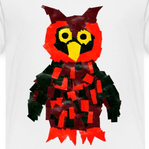 Luisa-00017-Eule - Kinder Premium T-Shirt