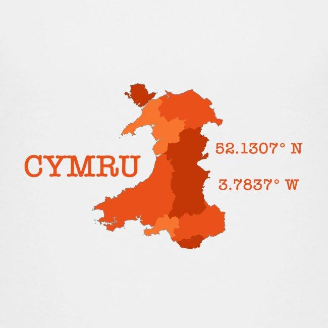 Cymru - Latitude / Longitude