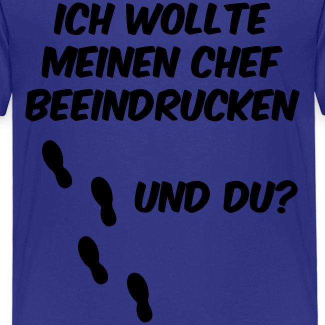 Business Run - Laufshirt - Chef beeindruck