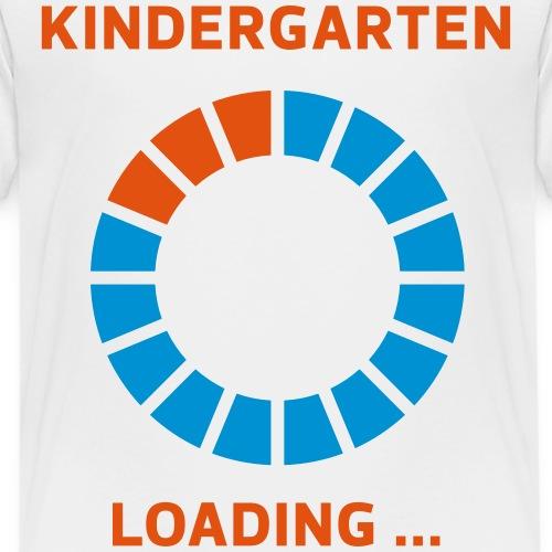 Kindergarten loading 4 - Kinder Premium T-Shirt