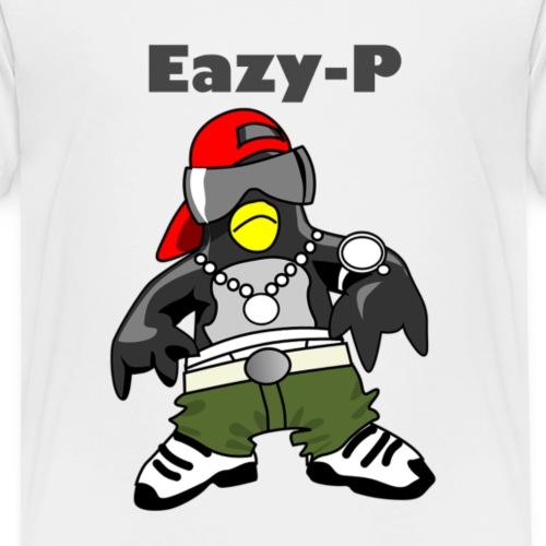 Gangster Penguin - Eazy-P - Kinder Premium T-Shirt