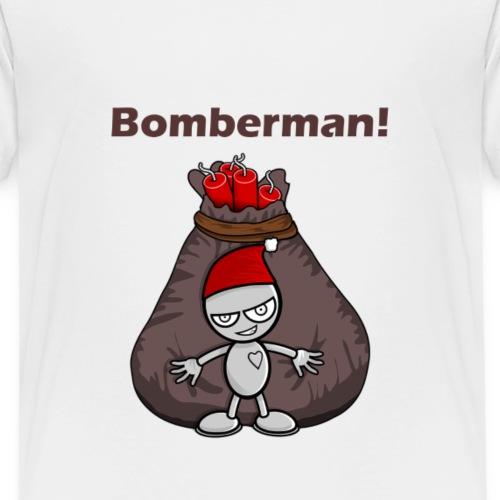 Bomberman goes CRAZY! - Kinder Premium T-Shirt