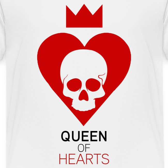 Tee shirt manches longues Reine des Coeurs