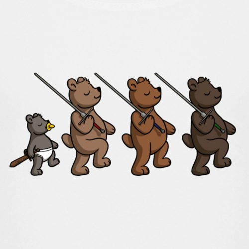 Schwerterbärchen - Kinder Premium T-Shirt
