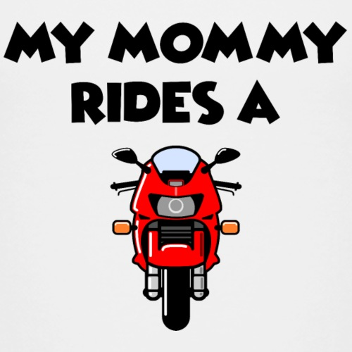 My Mommy - Firestorm Red - Kinder Premium T-Shirt