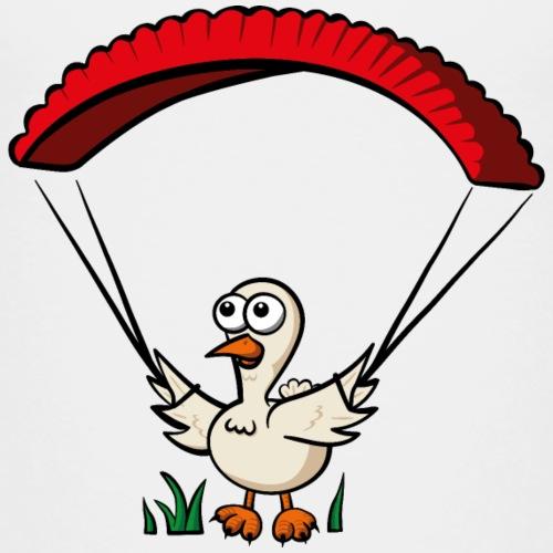 Groundhendl Groundhandling Hendl Paragliding - Kinder Premium T-Shirt