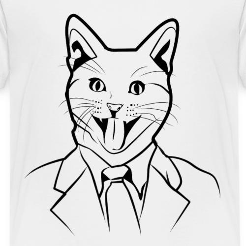 Katzen T Shirt mit Katzenmotiv Katze - Kinder Premium T-Shirt