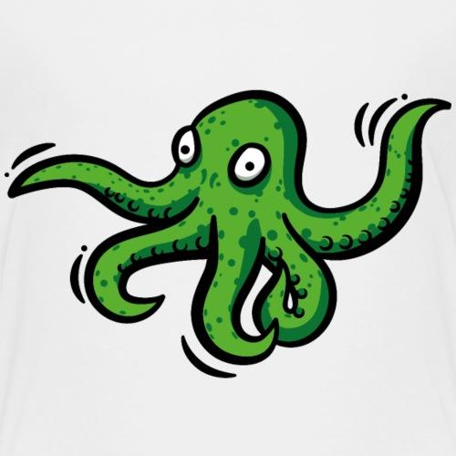 Alien Oktopus - Kinder Premium T-Shirt