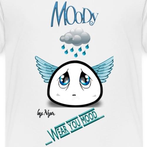MOODY ANGEL - Maglietta Premium per bambini