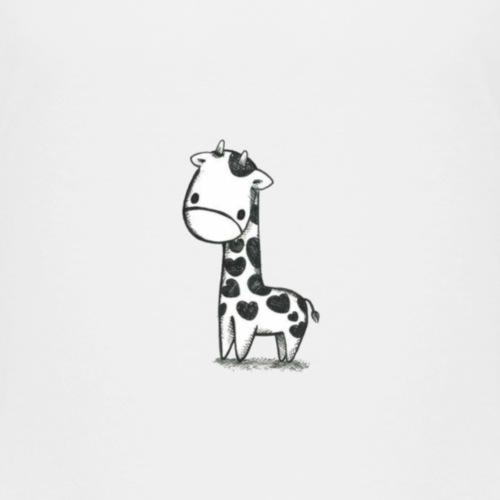 CuteBaby Giraf - Børne premium T-shirt