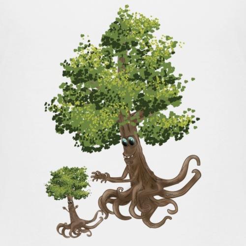 course famille d'arbres - T-shirt Premium Enfant