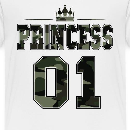 Princess 01 Partnershirt Partnerlook Camouflage - Kinder Premium T-Shirt