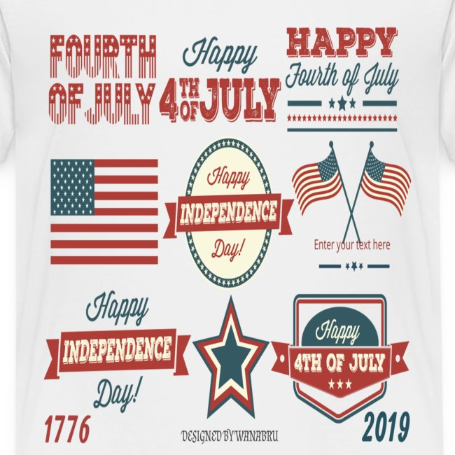 happy 4th of july shirt independente day america