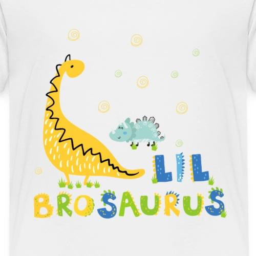 Dinosaurier kleiner Brudersaurus Kleiner Bruder - Kinder Premium T-Shirt