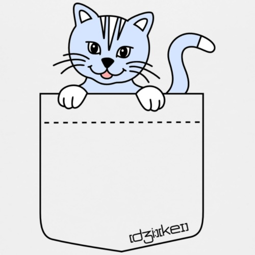 pocket friend - kitten - Kids' Premium T-Shirt
