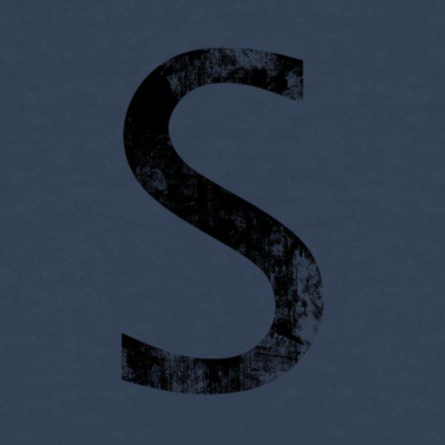 S For Sonnit Black Grunge
