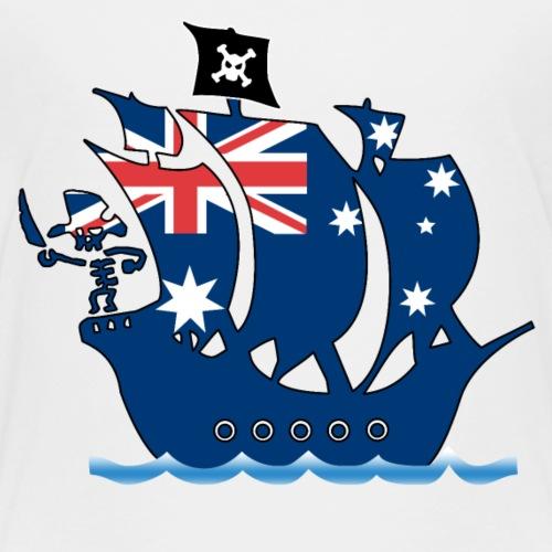 piratenschiff_australien - Kinder Premium T-Shirt