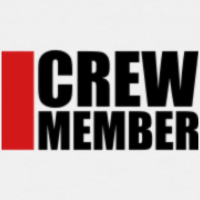 cool crew member logo design