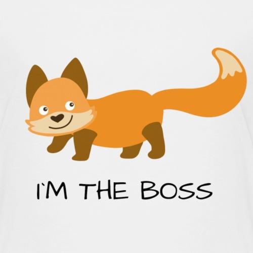 I´M THE BOSS - Kinder Premium T-Shirt