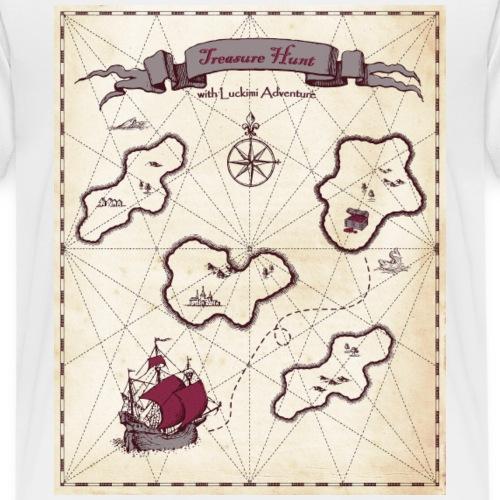 treasure Map - Kids' Premium T-Shirt