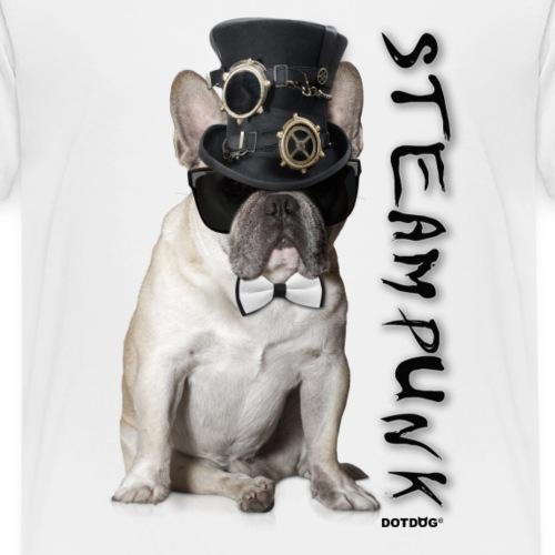 Steampunk Bulldogge - Kinder Premium T-Shirt