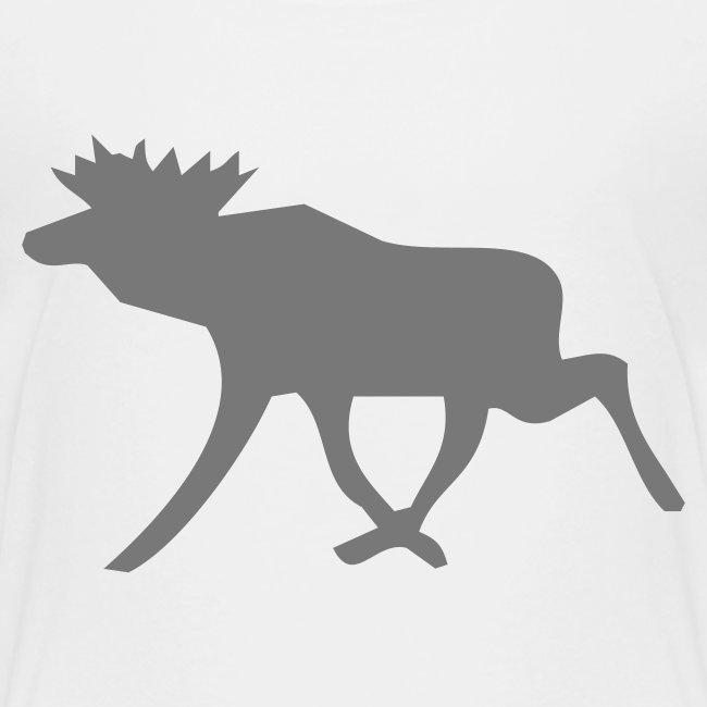 Schwedenelch; schwedisches Elch-Symbol (vektor)