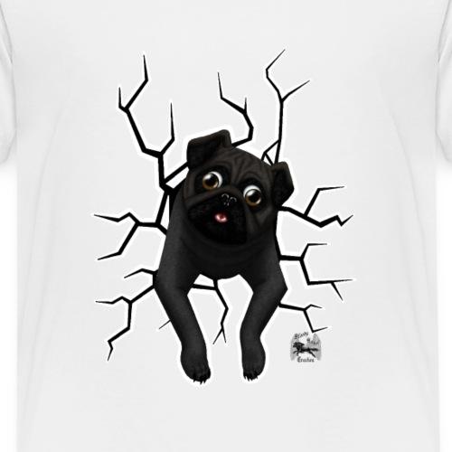 Stuck mops vorne dunkel - Kinder Premium T-Shirt