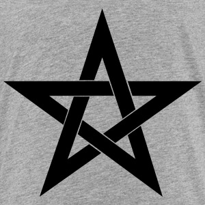 Pentagram, pentacle, magic, symbol, witchcraft - Kids' Premium T-Shirt